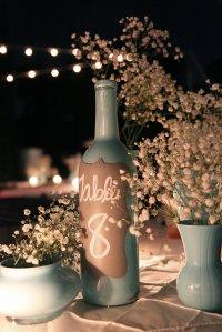 dekoracje weselne na stoły